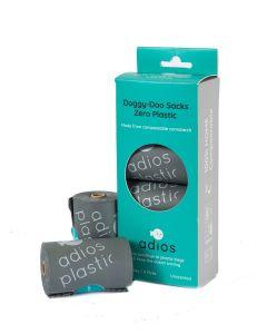 Adios Plastic – Biorazgradljive vrečke za iztrebke Grey (4 rolice)