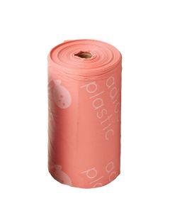 Adios Plastic – Biorazgradljive vrečke za iztrebke Pink (1 rolica)