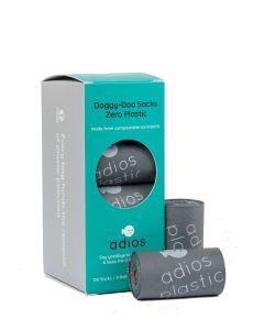 Adios Plastic – Biorazgradljive vrečke za iztrebke Grey (8 rolic)