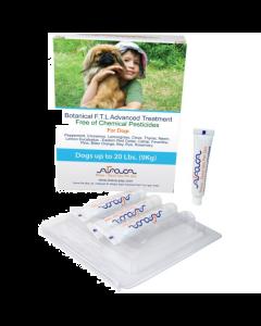 Arava - Flea & Ticks Botanical ampule proti klopom in bolham za pse do 0-9 kg
