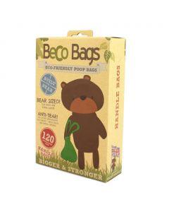 Beco Pets – Biorazgradljive vrečke z ročaji BecoBags 120 kosov