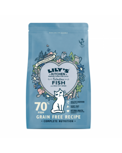 Lily's Kitchen - Fabulous Fish za odrasle mačke 800 g
