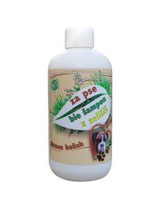 Cvetka - Bio zeliščni šampon za pse Grom (za temno dlako) 250 ml