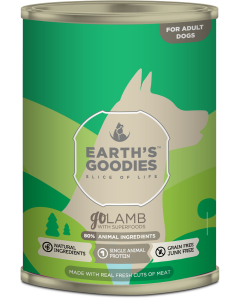 Earth's Goodies - goLAMB jagnjetina iz proste reje s superživili 400g