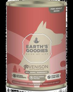 Earth's Goodies - goVENISON prostoživeča divjačina superživili 400g