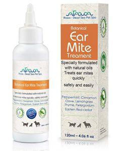 Arava - Botanical Ear Mite Treatment sredstvo proti ušesnim garjam za mačke in pse 120 ml