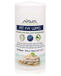 Arava - Eye Wipes Čistilni robčki za čiščenje predela okoli oči