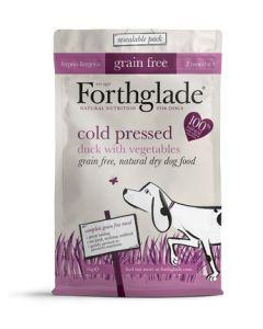 Forthglade - Hladno stiskani peleti Raca brez žitaric 1kg