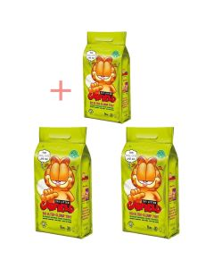 Garfield - Bio mačji posip TINY 2,26 kg (2 + 1 GRATIS)