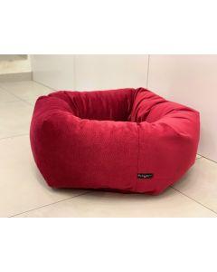 Loving Paw - Udobna posteljica TANGO za pse in mačke v rdeči barvi