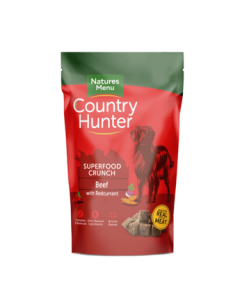Natures Menu - Country Hunter Crunch govedina z rdečim ribezom 1,2 kg