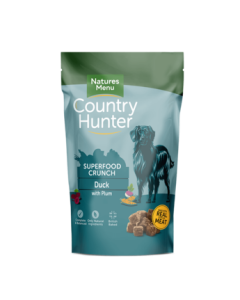Natures Menu - Country Hunter Crunch raca s slivami 1,2 kg
