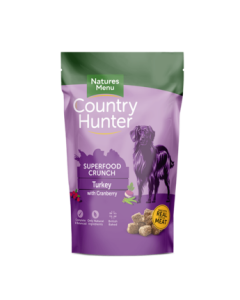 Natures Menu - Country Hunter Crunch puran z brusnicami 1,2 kg