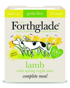 Forthglade - Adult jagnjetina z meto Spring edition naraven obrok 395g