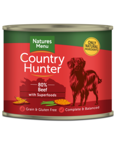 Natures Menu - Country Hunter govedina 600g