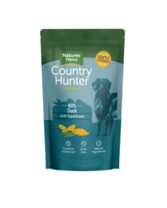 Natures Menu - Country Hunter mesna vrečka raca 150g