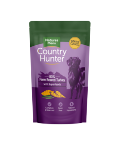 Natures Menu - Country Hunter mesna vrečka puran 150g