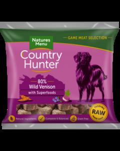 Natures Menu - Country Hunter Nuggets divjačina in borovnice 1kg