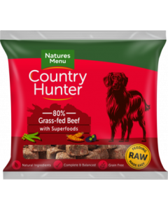 Natures Menu - Country Hunter Nuggets govedina 1kg