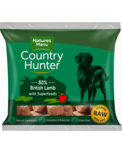 Natures Menu - Country Hunter Nuggets jagnjetina 1kg