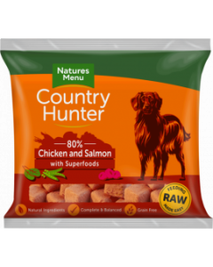 Natures Menu - Country Hunter Nuggets losos in maline 1kg
