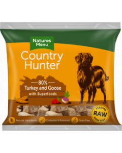Natures Menu - Country Hunter Nuggets puran in gos 1kg