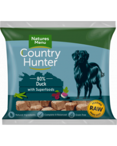 Natures Menu - Country Hunter Nuggets raca in slive 1kg