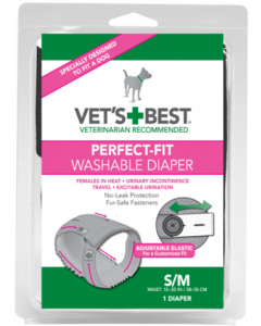 Vet's Best - Pralne plenice za samice Perfect Fit