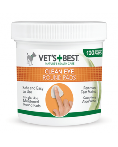 Vet's Best - Clean Eye blazinice za pse in mačke (100 kosov)
