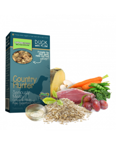Natures Menu - Country Hunter hrustljavčki raca s slivami 700g
