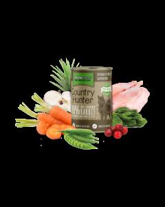 Natures Menu - Country Hunter pločevinka kunec in brusnice 600g