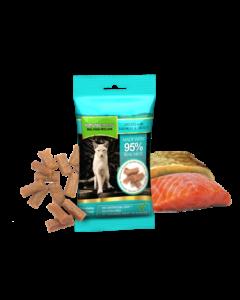 Natures Menu - Priboljški za mačke losos in postrv 60g