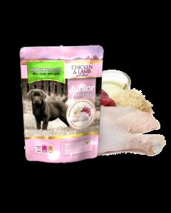 Natures Menu - Complete Menu mesne vrečke JUNIOR za pasje mladiče 300g