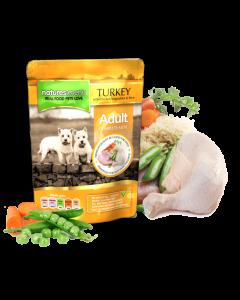 Natures Menu - Complete Menu mesne vrečke puran s piščancem 300g