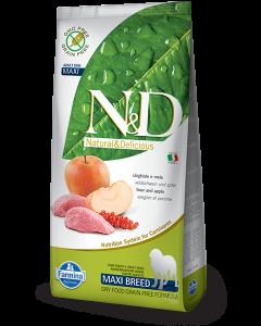 Farmina N&D - GRAIN FREE Boar & Apple Adult Maxi 12 kg