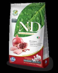 Farmina N&D - GRAIN FREE Chicken Pomegranate Adult Medium