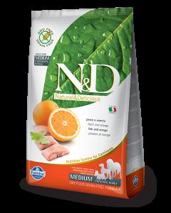 Farmina N&D - GRAIN FREE Codfish & Orange Adult Medium