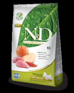 Farmina N&D - GRAIN FREE Boar & Apple Adult Mini