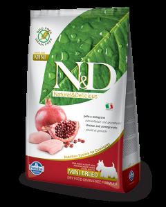 Farmina N&D - GRAIN FREE Chicken Pomegranate Adult Mini
