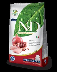 Farmina N&D - GRAIN FREE Chicken Pomegranate Puppy Maxi