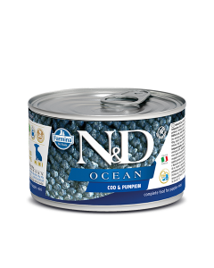Farmina N&D - Ocean Codfish & Pumpkin konzerva za pasje mladičke 140g
