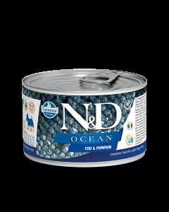 Farmina N&D - Ocean Codfish & Pumpkin konzerva za pse 140g