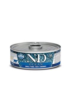 Farmina N&D - Ocean Small Tuna & Codfish konzerva za mačke 80g