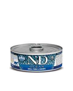 Farmina N&D - Ocean Small Tuna & Shrimp konzerva za mačke 80g