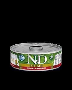 Farmina N&D - Prime Chicken & Pomegranate konzerva za mačje mladičke 80g