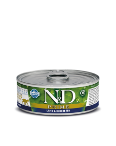 Farmina N&D - Prime Lamb & Blueberry konzerva za mačke 80g