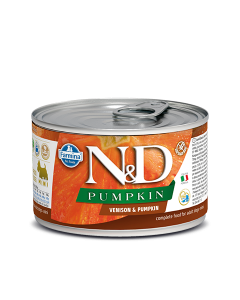 Farmina N&D - Pumpkin Venison & Pumpkin Adult Mini konzerva za pse 140g