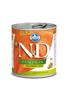 Farmina N&D - Pumpkin Boar & Apple konzerva za pse 285g