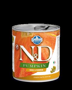Farmina N&D - Pumpkin Quail & Pumpkin konzerva za pse 285g