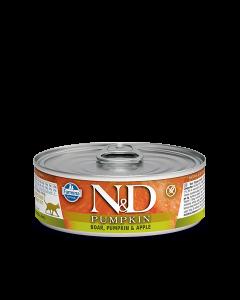 Farmina N&D - Pumpkin Boar & Apple konzerva za mačke 80g